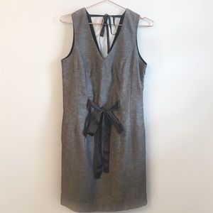 Banana Republic Sleeveless V-neck Dress